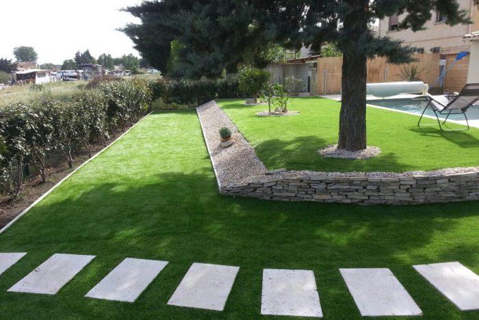 A02-Aménagement Extérieur Jardin avec Piscine Marseille (13)