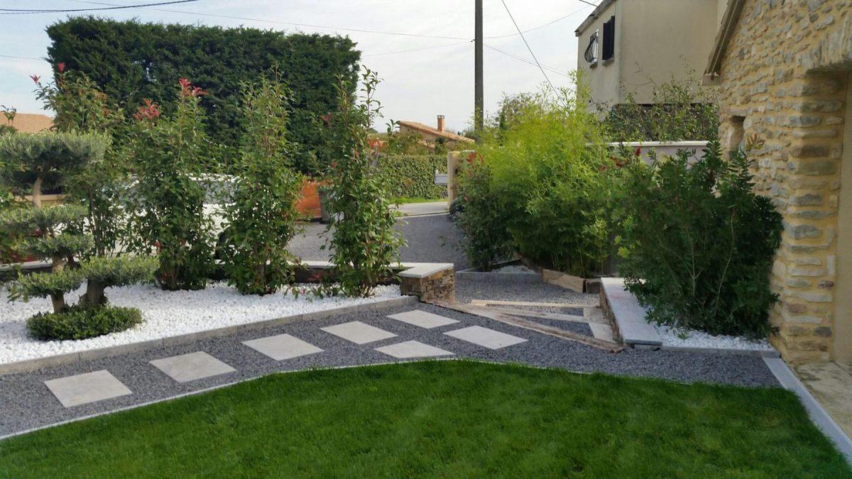 Amenagement Exterieur Terrasse Maison construction terrasse en pierre - aménagement jardin